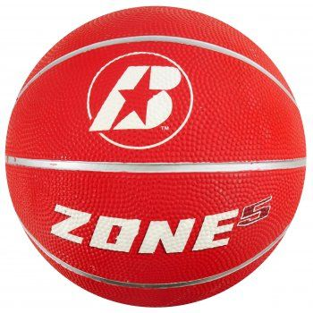 BASKETBALL BADEN RUBBER ZONE TRAINING BALLS (SIZE 5, 3)